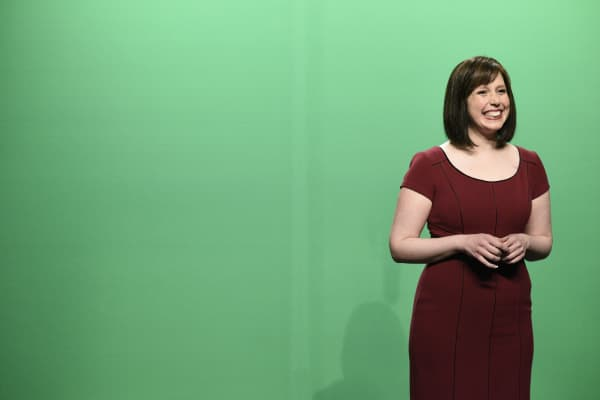 Vanessa Bayer as Dawn Lazarus Weekend Meteorologist during 'Weekend Update' in Studio 8H on May 20, 2017