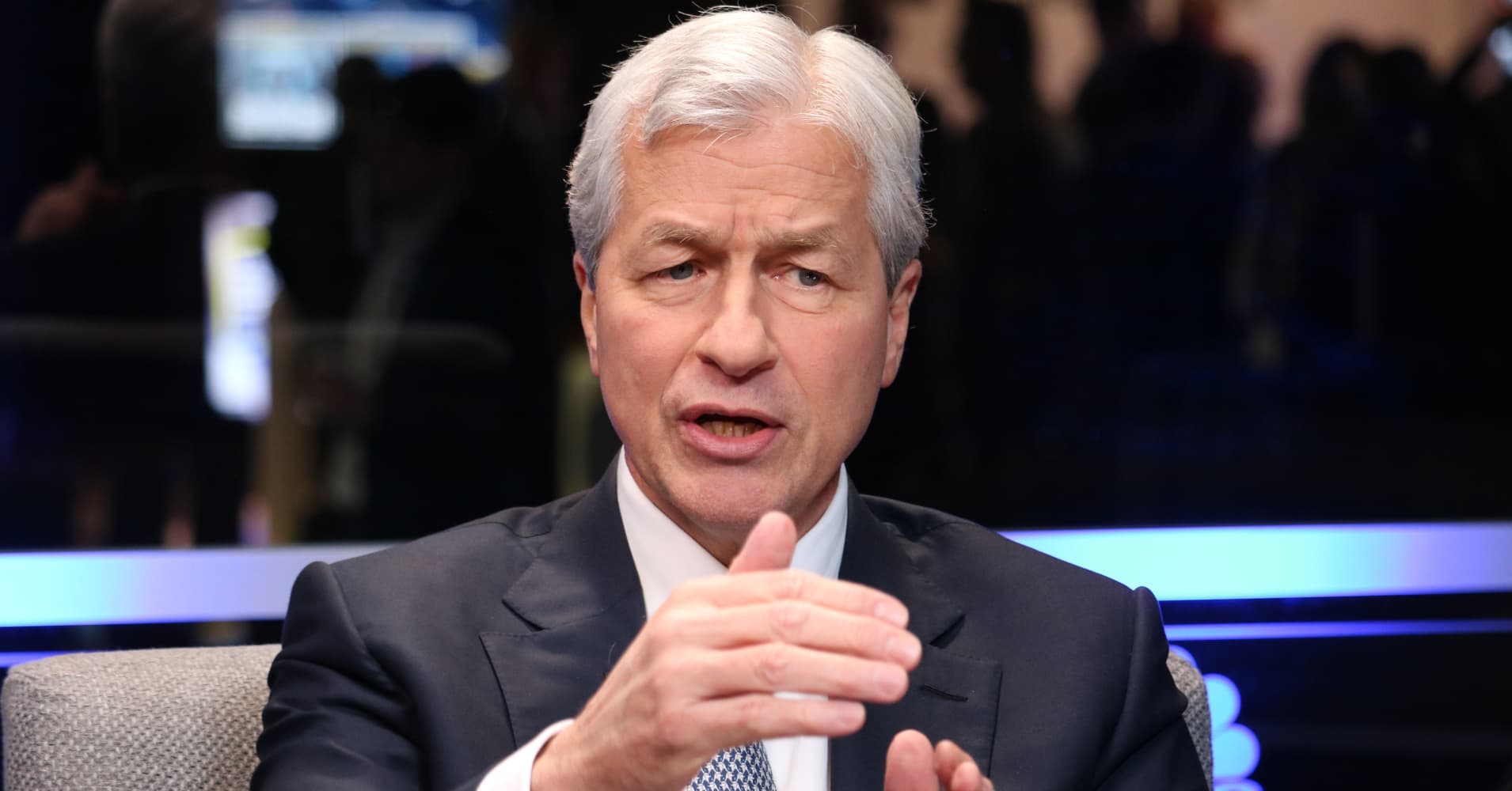 Jamie Dimon says the stock market overreacted, no recession ahead