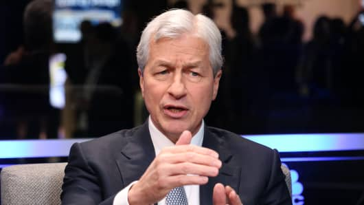 Jamie Dimon, CEO of JP Morgan Chase, speaking at the Business Roundtable CEO Innovation Summit in Washington, D.C. on Dec. 6th, 2018.