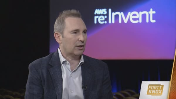 AWS CEO Andy Jassy talks competition and innovation in an interview at re:Invent 2018