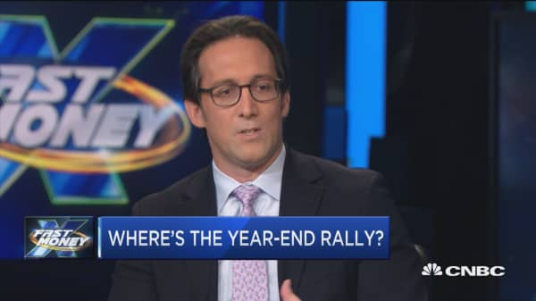 Here's why the Santa Claus rally isn't happening this year, says Wells Fargo's top strategist