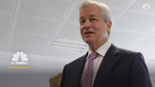 JPMorgan CEO Jamie Dimon blames the trade war for ongoing market turmoil