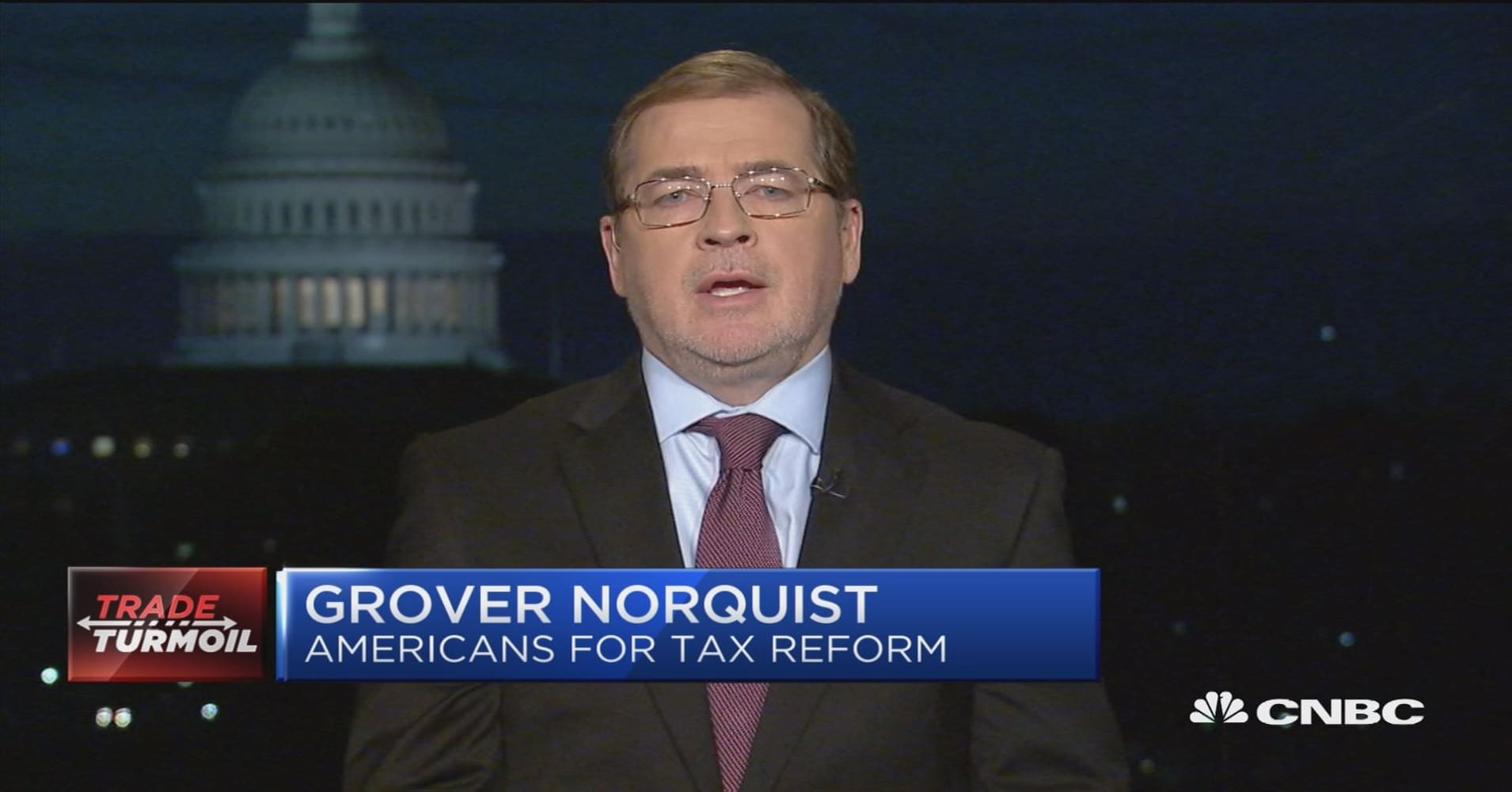 Influential anti-tax activist Grover Norquist to Trump: 'Tariffs are taxes' — leverage world outrage over China trade instead