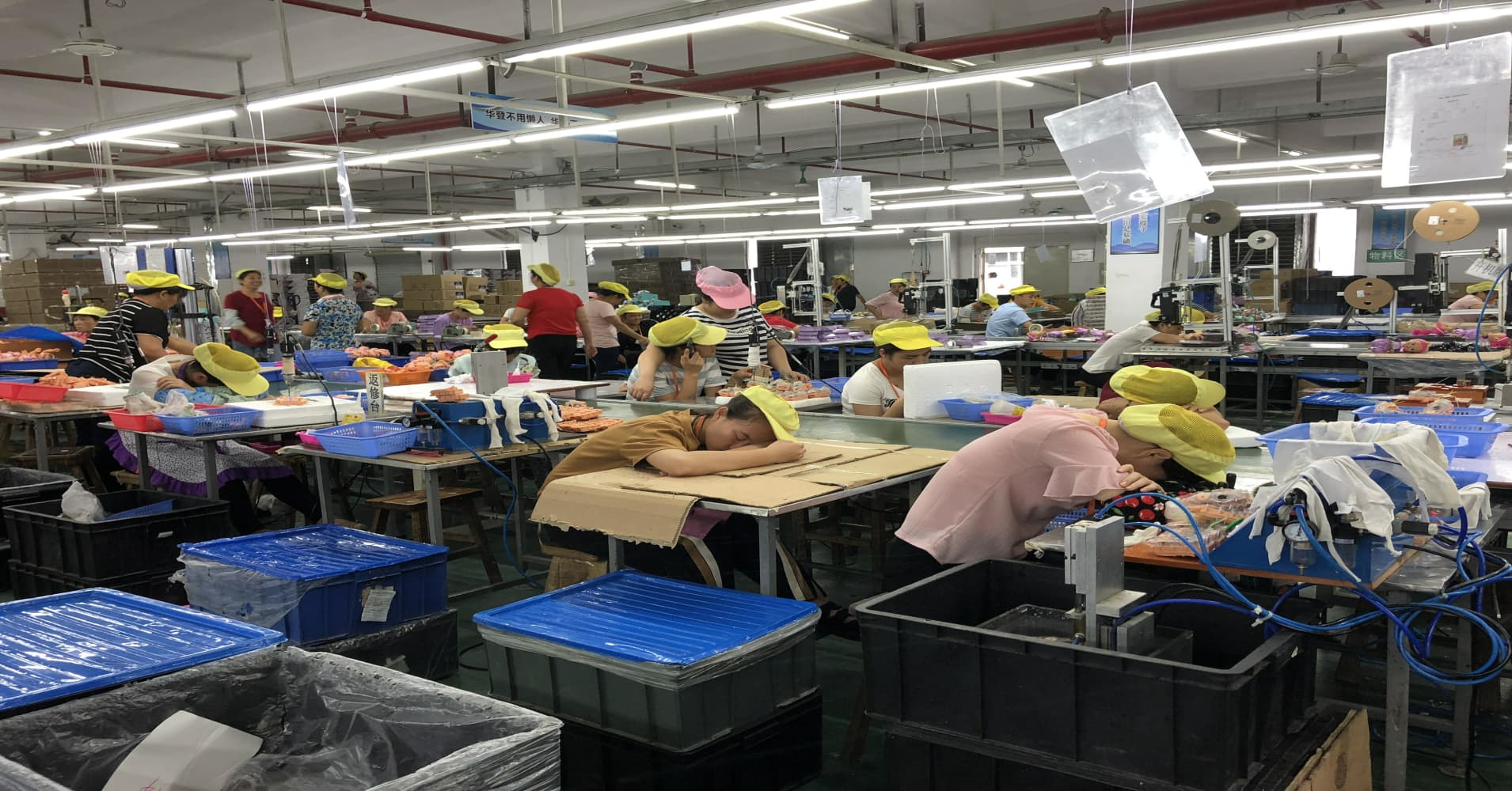 'Nightmare' conditions at Chinese factories where Hasbro and Disney toys are made
