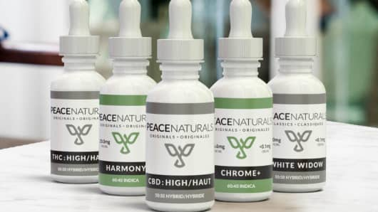Peace Naturals products owned by Cronos Group
