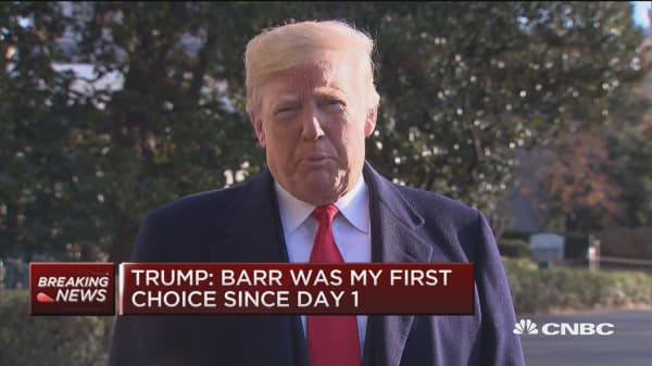 Trump: I've chosen Bill Barr to be next Attorney General