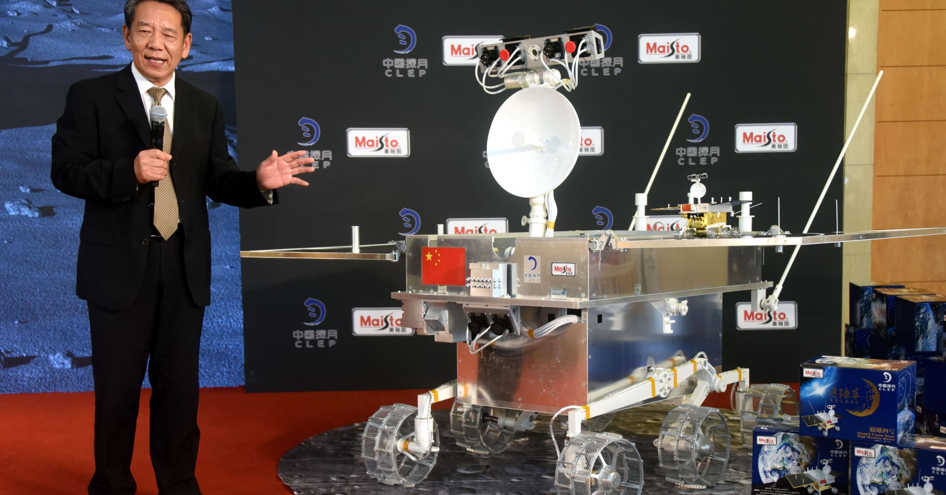China makes history as the first to land a spacecraft on the far side of the moon