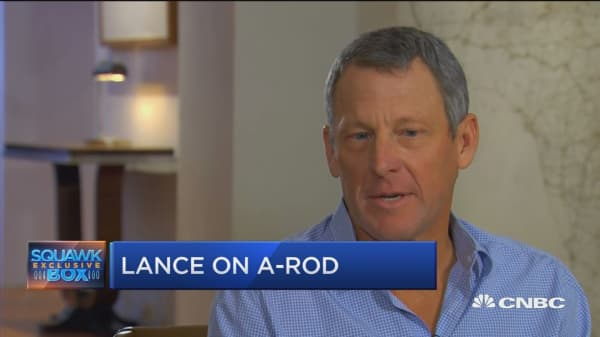 Lance Armstrong calls out Alex Rodriguez: He didn't raise half a billion dollars and save lives