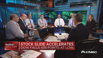 Trade agreement uncertainty accelerates stock slides