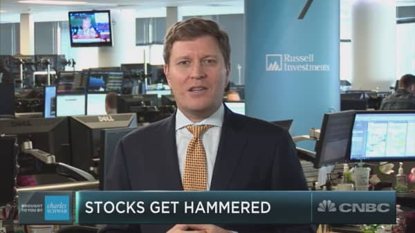It's a 'messy correction' – not a bear market, Russell Investments money manager says