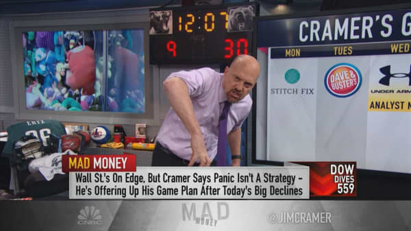 Cramer's game plan: Between the Fed, China and Apple, get ready for more volatility
