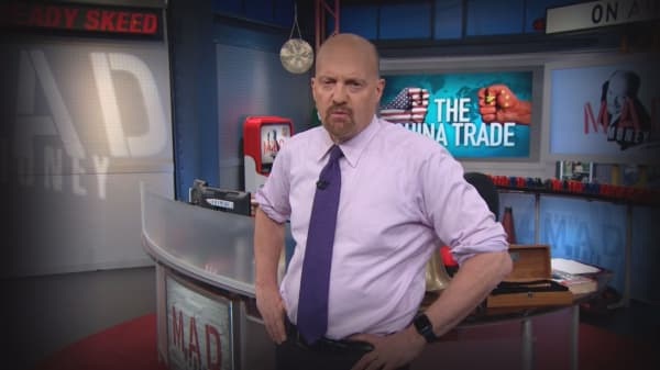 Cramer Remix: The trade war isn't about trade—it's about global domination