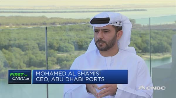 We're a transitioning point to other destinations: Abu Dhabi Ports CEO