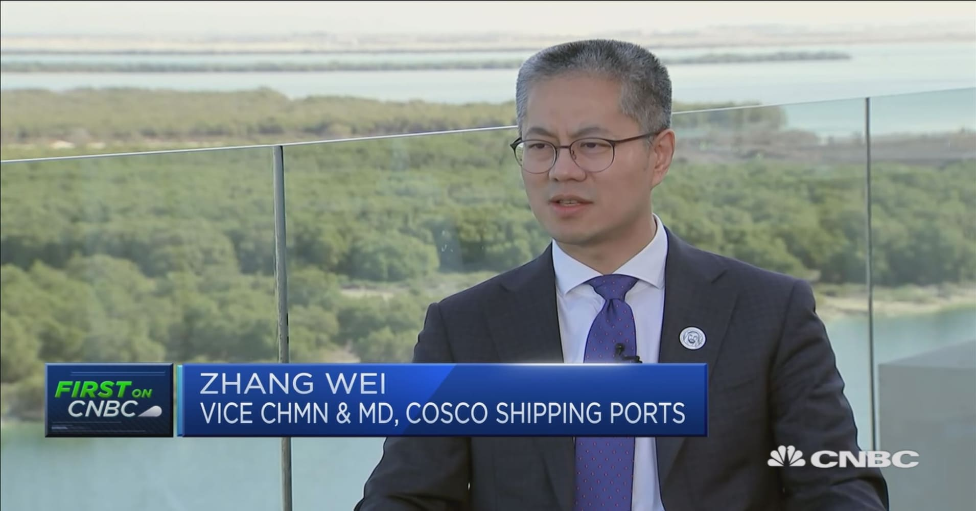 Belt and road: China's Cosco and Abu Dhabi Ports develop Khalifa