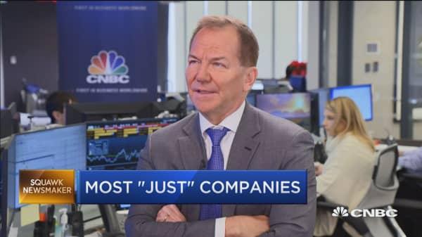 Legendary investor Paul Tudor Jones on market volatility