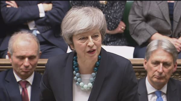 Watch Prime Minister Theresa May's full remarks on the delayed Brexit deal vote