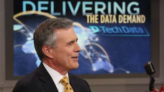 Richard Hume, CEO of Tech Data