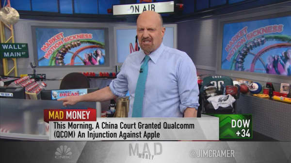 The action in Apple's stock tells you everything you need to know about this market, says Jim Cramer