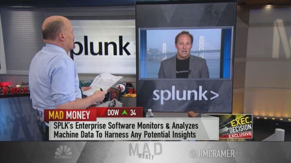 Splunk CEO talks data analytics company's new capabilities in voice, AR