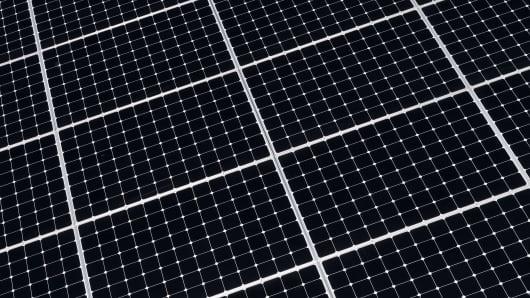 Solar Panel detail...