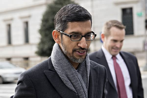 Google CEO to testify before Congress
