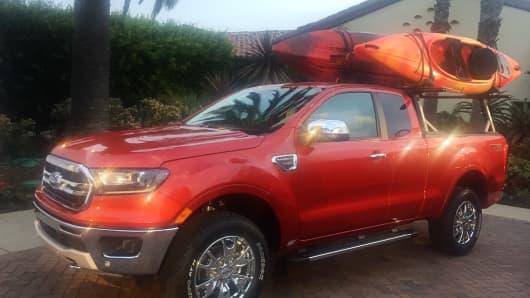 2019 Ford Ranger pickup