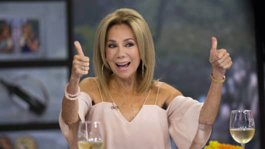 Kathie Lee Gifford on Thursday, August 16, 2018 -- (Photo by: Zach Pagano/NBC/NBCU Photo Bank via Getty Images)