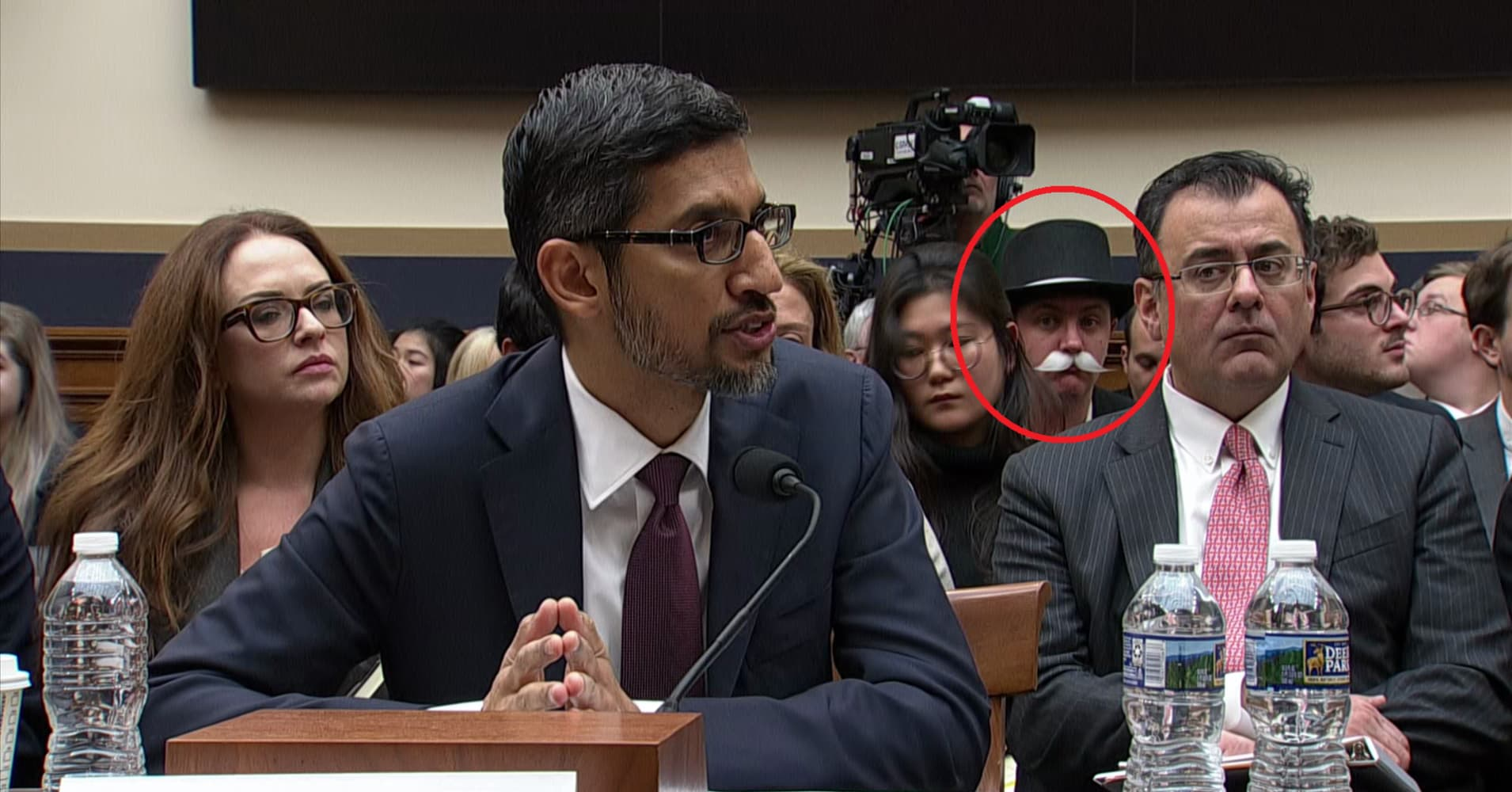 'Monopoly Man' returns to congress for Google CEO Pichai's hearing