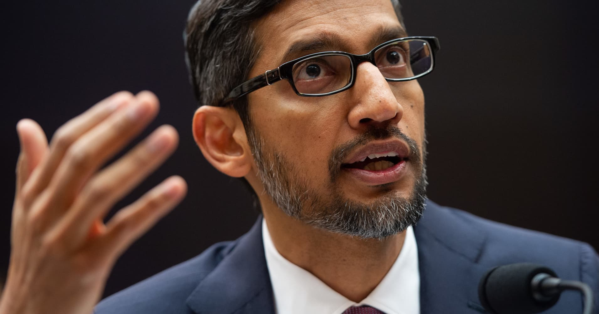 Trump met with Google CEO Sundar Pichai to discuss 'political fairness' and China