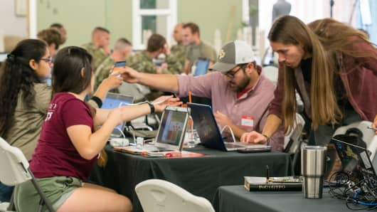 Bugcrowd, a company that provides a platform for coordinating ethical hackers, holds an event at California Polytechnic University in July.