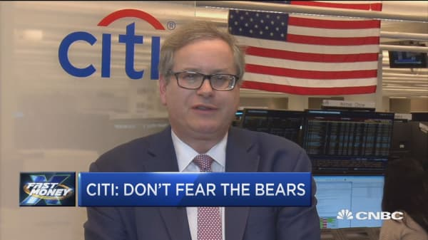Citi's top strategist says this is why he's betting on the bulls into the end of the year and beyond