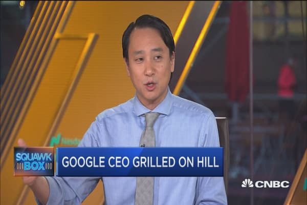 Google CEO testimony unlikely to result in regulation, says NYT's Ed Lee