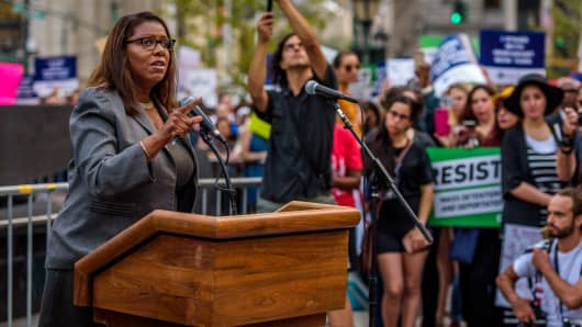 New York City Public Advocate Letitia James - In response to Attorney General Jeff Sessions to announcing the end of the Deferred Action for Childhood Arrivals (DACA) program.