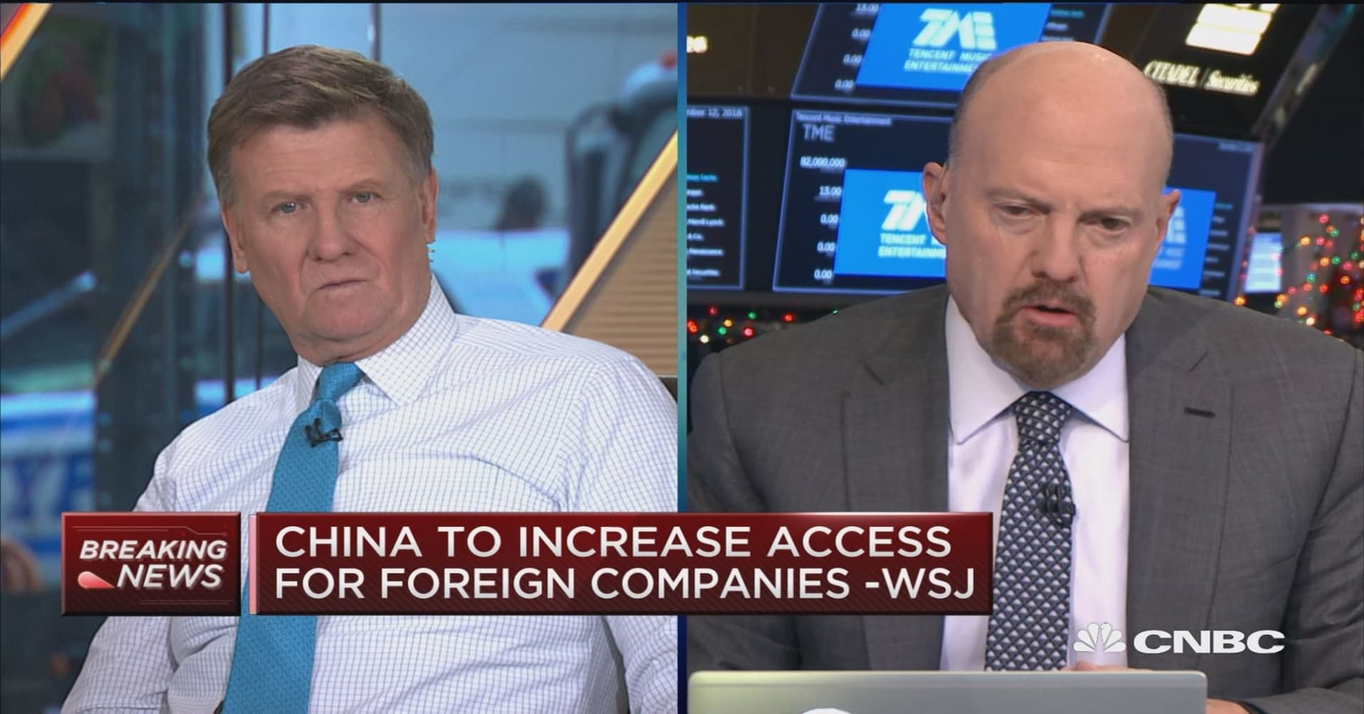 Cramer: China may be recognizing that revealing its 'world domination' plan was a bad idea
