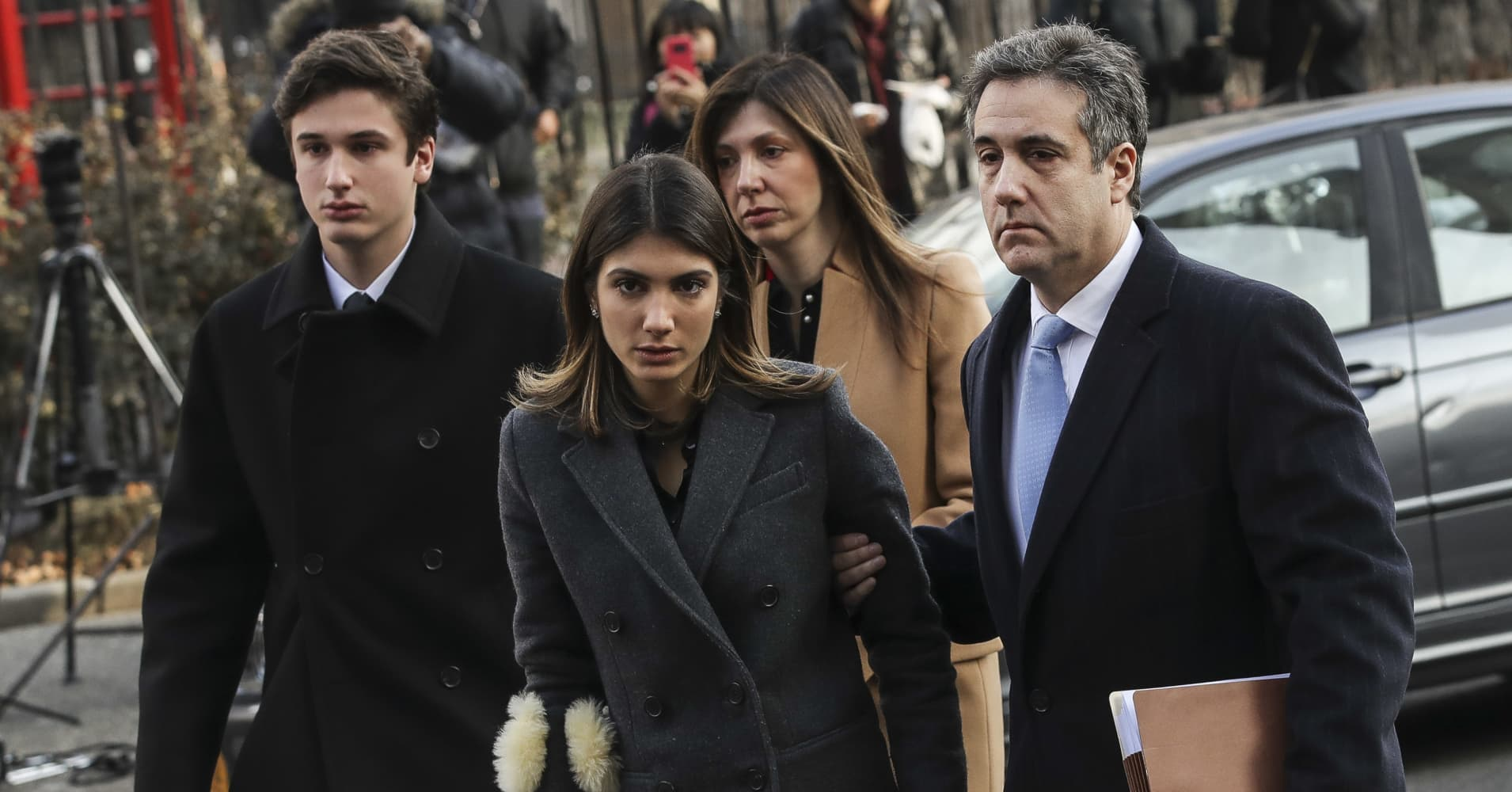 Michael Cohen postpones plan to testify at Congress because of fear for his family's safety