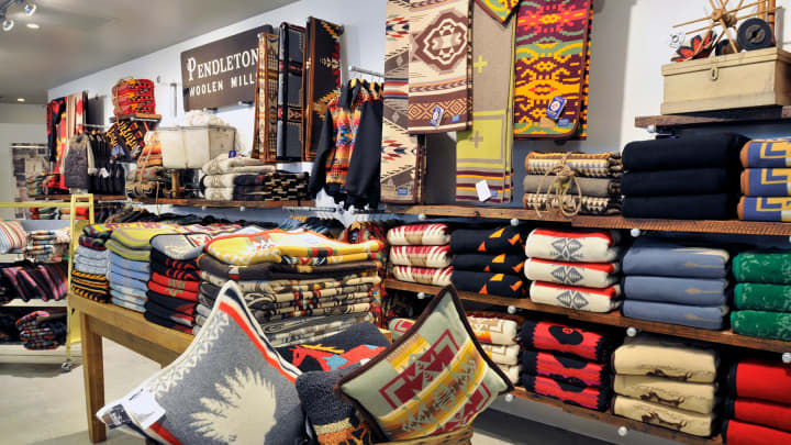 Pendleton store at Portland International Airport.