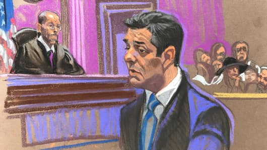 Michael Cohen in court