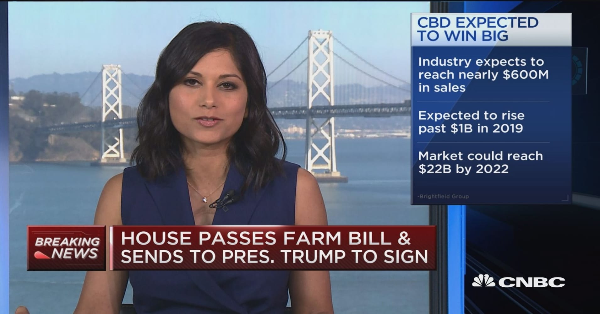 Farm bill may be big win for hemp-based product manufacturers
