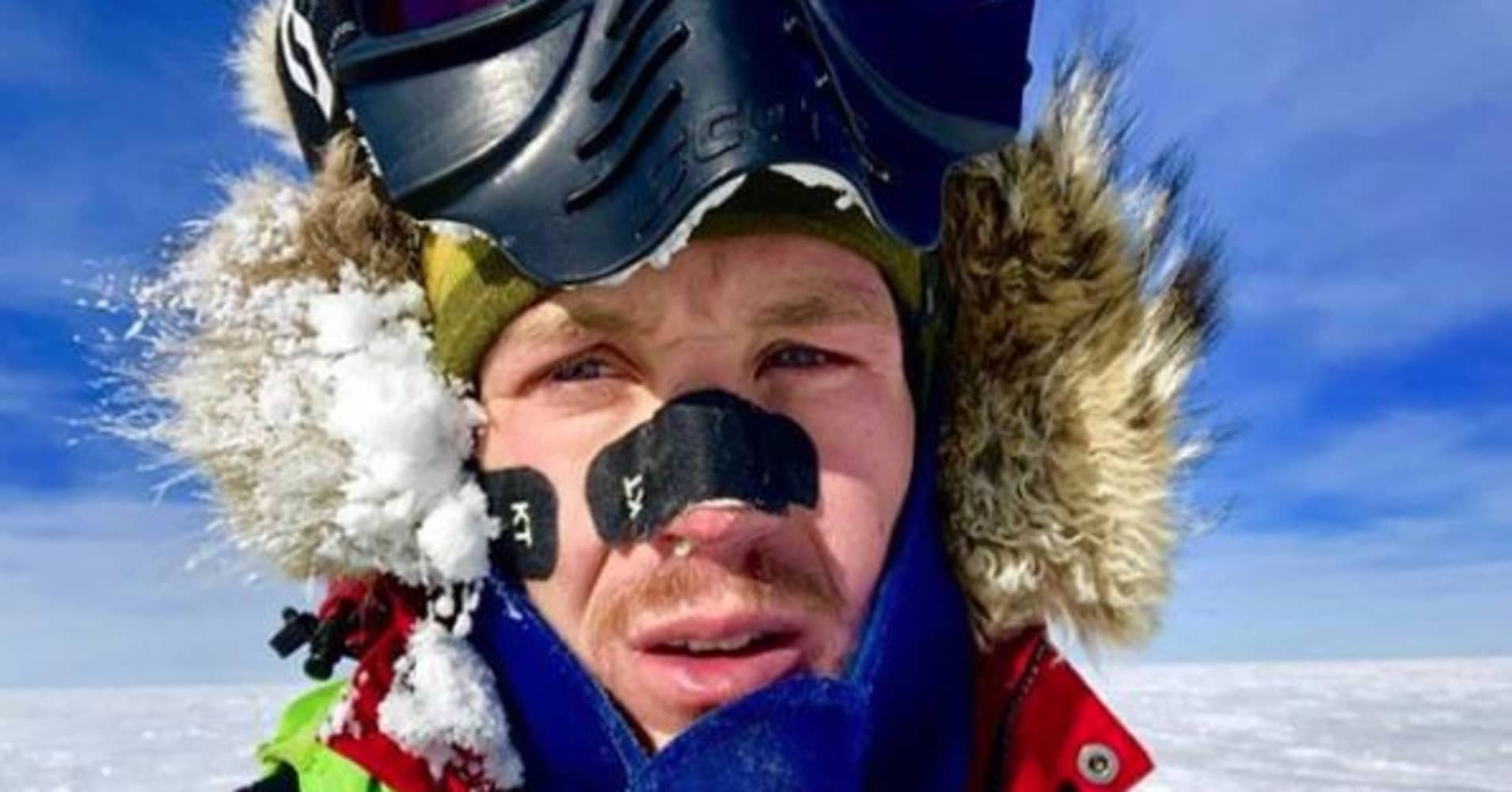 How to stay motivated: Advice from Colin O'Brady Antarctic crossing