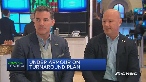Watch CNBC's full interview with Under Armour's CEO and President