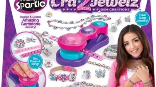 LaRose Industries recalls Cra-Z-Jewelz Ulitmate Gem Machine due to violation of lead standard.