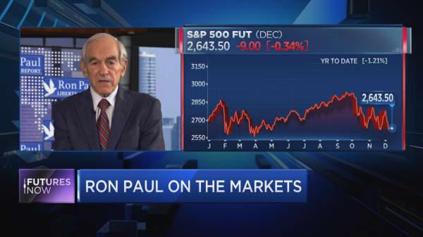 Ron Paul: Brace for a market meltdown worse than 1929 crash