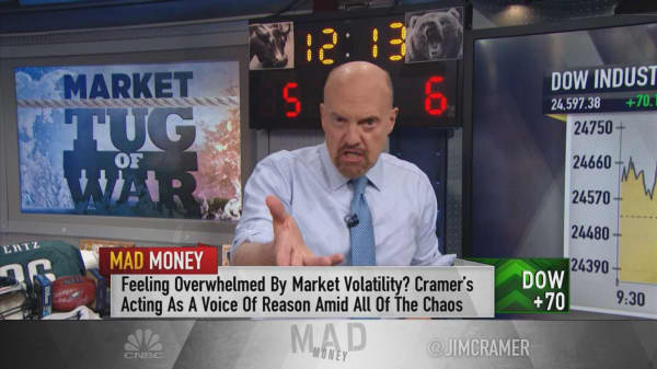 After a hike next week, the Fed would be 'nuts to keep tightening': Cramer
