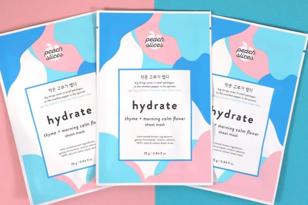 Peach Slices Hydrate Mask