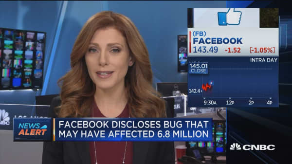 Facebook admits to bug that allowed third party developers to access user photos