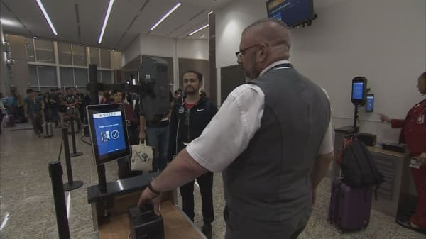 Biometric boarding