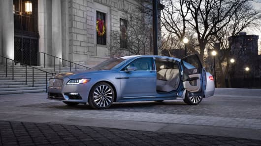 The 80th Anniversary Lincoln Continental Limited Edition with coach doors.