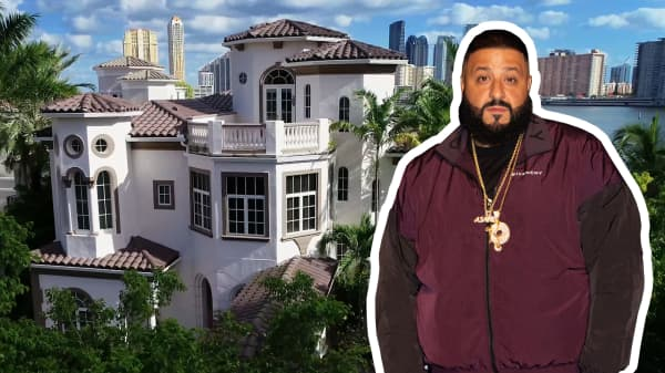 DJ Khaled's $8 million Miami estate is for sale