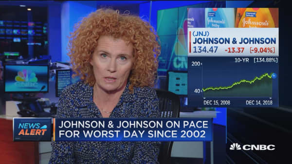 Reuters' Lisa Girion details her report on Johnson & Johnson baby powder