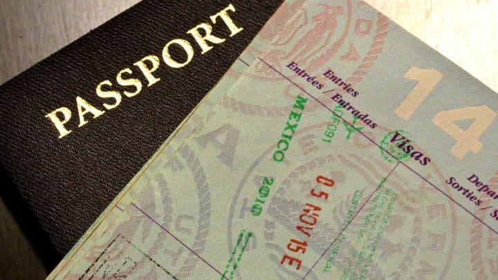 International Passport documents